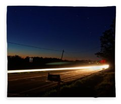 Night Passing Fleece Blanket