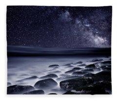 Night Shadows Fleece Blanket