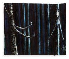 Nightfall Secret Fleece Blanket