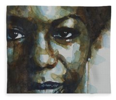Nina Simone Ain't Got No Fleece Blanket
