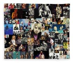 Nirvana Collage Fleece Blanket