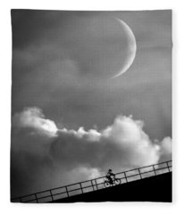 No Turning Back Fleece Blanket