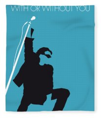 No035 My U2 Minimal Music Poster Fleece Blanket
