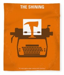 No094 My The Shining Minimal Movie Poster Fleece Blanket