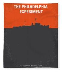 No126 My The Philadelphia Experiment Minimal Movie Poster Fleece Blanket