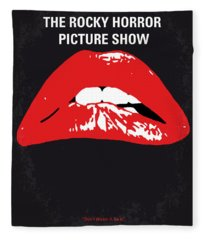 No153 My The Rocky Horror Picture Show Minimal Movie Poster Fleece Blanket