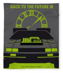 No183 My Back To The Future Minimal Movie Poster-part IIi Fleece Blanket