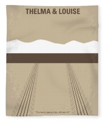 No189 My Thelma And Louise Minimal Movie Poster Fleece Blanket