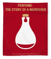No194 My Perfume The Story Of A Murderer Minimal Movie Poster Fleece Blanket