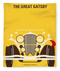 No206 My The Great Gatsby Minimal Movie Poster Fleece Blanket