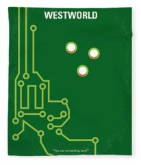 No231 My Westworld Minimal Movie Poster Fleece Blanket