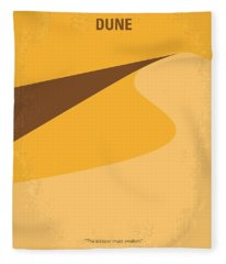 No251 My Dune Minimal Movie Poster Fleece Blanket
