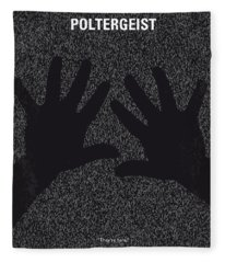 No266 My Poltergeist Minimal Movie Poster Fleece Blanket