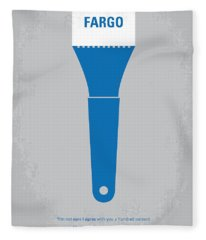 No283 My Fargo Minimal Movie Poster Fleece Blanket