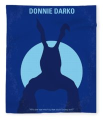 No295 My Donnie Darko Minimal Movie Poster Fleece Blanket