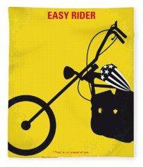 Rider Fleece Blankets