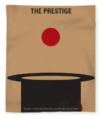 No381 My The Prestige Minimal Movie Poster Fleece Blanket