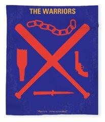 No403 My The Warriors Minimal Movie Poster Fleece Blanket
