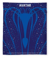 No404 My Avatar Minimal Movie Poster Fleece Blanket