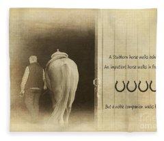 Noble Companion Fleece Blanket