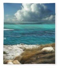 Nonsuch Bay Antigua Fleece Blanket