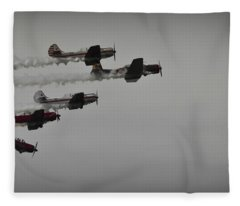 Norteast Raiders At The Greenwood Lake Airshow 2012 Fleece Blanket