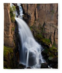 North Clear Creek Falls Fleece Blanket