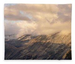 North Valley Panoramic Fleece Blanket