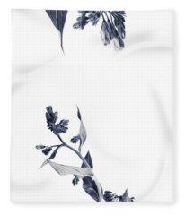Northern Bluebells Fleece Blanket