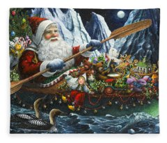 Northern Passage Fleece Blanket