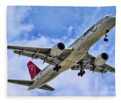 Northwest Coming In By Diana Sainz Fleece Blanket