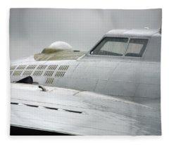 Nose B-17 G Fleece Blanket