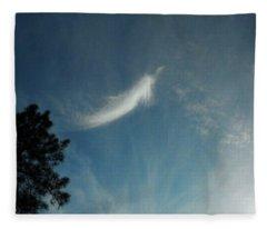 First Angel Appearance Fleece Blanket