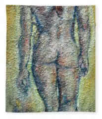 Nude Brunet Fleece Blanket