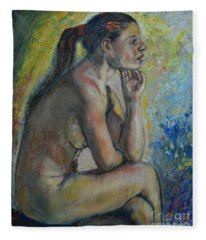 Nude Eva 2 Fleece Blanket