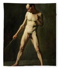 Nude Study Fleece Blanket