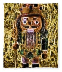Nutcracker Glow Fleece Blanket