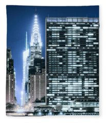 Ny Sights Fleece Blanket