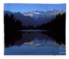 New Zealand Alps Fleece Blanket