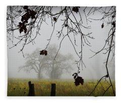 Oak Dreams Fleece Blanket