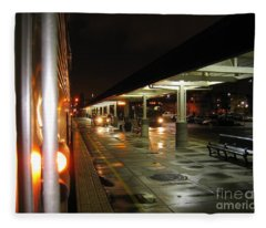 Oakland Amtrak Station Fleece Blanket