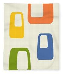 Oblongs Fleece Blanket