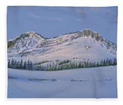 Observation Peak Fleece Blanket