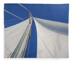 Obsession Sails 1 Fleece Blanket