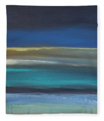 Ocean Blue 2 Fleece Blanket
