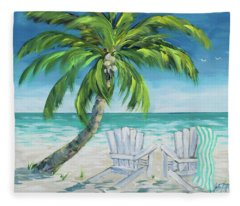 Ocean Breeze II Fleece Blanket
