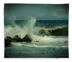 Ocean Impact - Jersey Shore Fleece Blanket