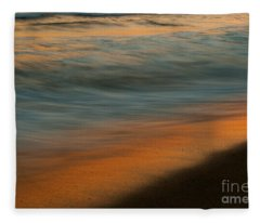Wave Impressions  Fleece Blanket