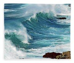Ocean Majesty Fleece Blanket