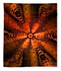October Fleece Blanket